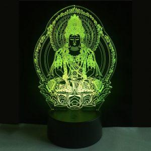 3D светильник Будда