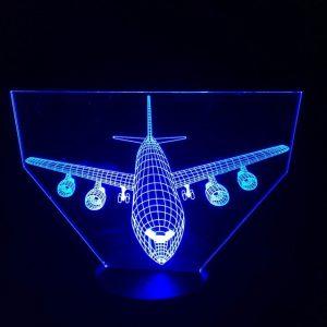 3D светильник Боинг