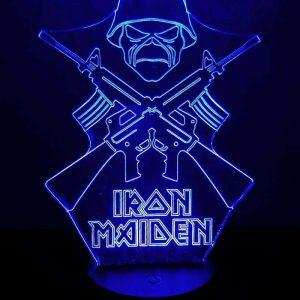 3D светильник Iron Maiden