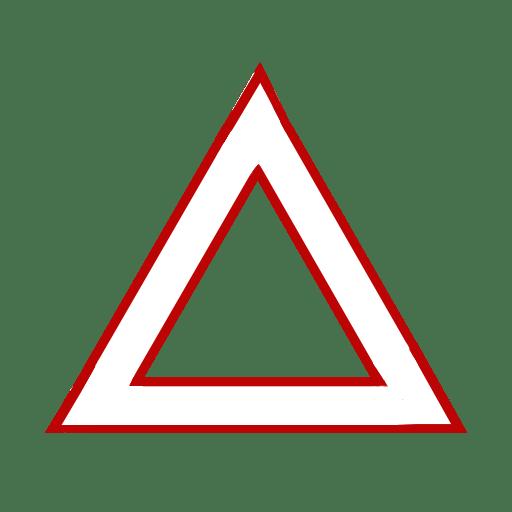 Треугольный светильник